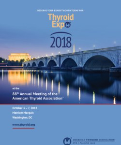 ATA 2018 Thyroid Expo Brochure